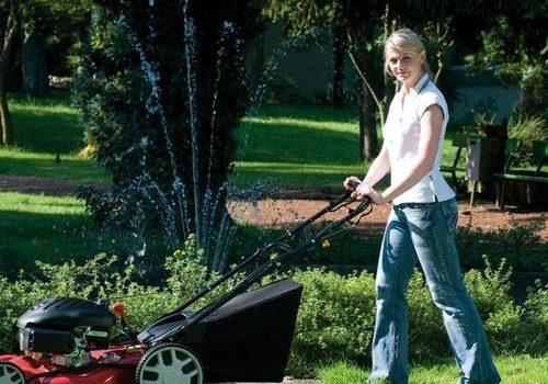 Comment avoir une pelouse de stade avec votre tondeuse thermique